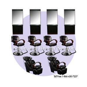 Salon Equipment Package Beauty Shampoo Styling Chairs Ebay