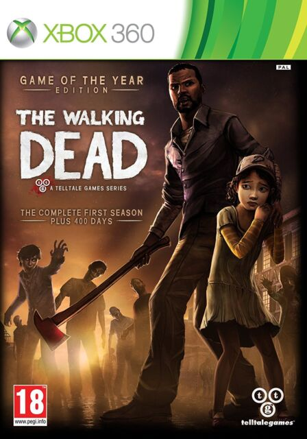 THE WALKING DEAD GAME OF THE YEAR EDITION XBOX 360 GAME 2013 NEW GERMAN DEUTSCHE
