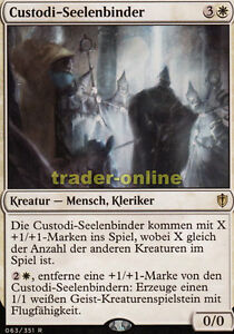 Custodi-Seelenbinder (Custodi soulbinders) comandante 2016 Magic 							 							</span>
