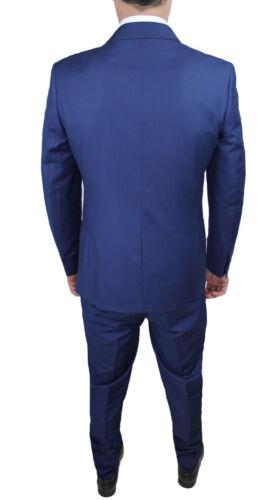 Couture A Uomo Abito 60 46 Elegante completo Da petto Blu Vivid Doppio n4v7qUvx
