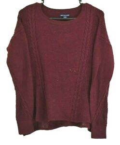 American-Eagle-Outfitters-Women-039-s-Small-Long-Sleeve-Wool-Blend-Winter-Sweater