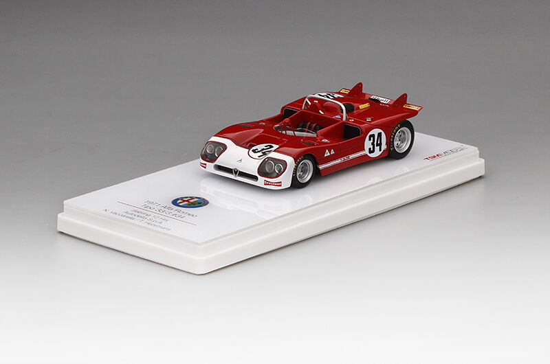TSM MODEL TSM154311 Alfa Romeo 33 3 n°34 12h Sebring 1971 Vaccarella 1 43