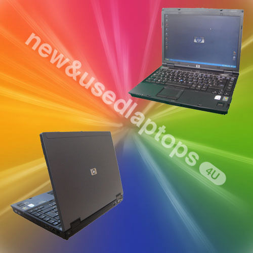CHEAP REFURBISHED HP Compaq NC6400 Laptop 1.66Ghz CORE 2 DUO Warranty Office