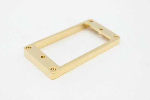 Mighty Mite no screws Gold Metal Tall Humbucker Guitar Pickup Ring