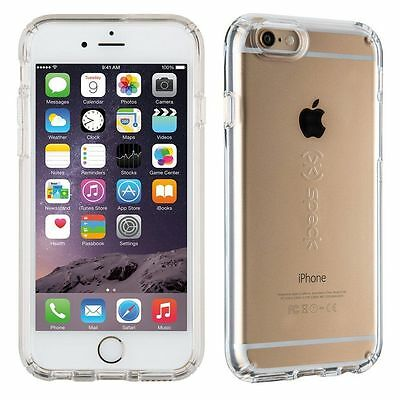 Authentic Speck CandyShell Case For Apple iPhone 6S/6 PLUS & iPhone 6 (Clear)