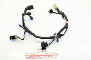 08-16-Yamaha-Yzf-R6-Oem-Headlight-Speedo-Gauges-Wiring-Harness-Wire-Loom-E8