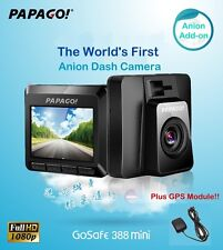 PAPAGO GoSafe 388Mini⊕Made in Taiwan⊕GPS Car Cam DVR WDR Recorder/Anion Add-on