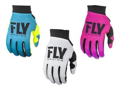 2019 Fly Racing Womens Pro Lite Gloves Motocross Dirtbike Offroad ATV Womens