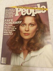 VINTAGE-People-Magazine-March-28-1977-FAYE-DUNAWAY-ROMAN-POLANSKI-Vintage-Ads