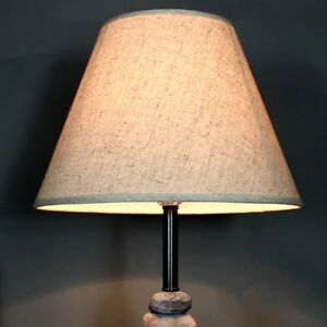 Cotton Textured Fabric Drum Shade Bedroom Ceiling Lampshade Lighting Cover New Ebay