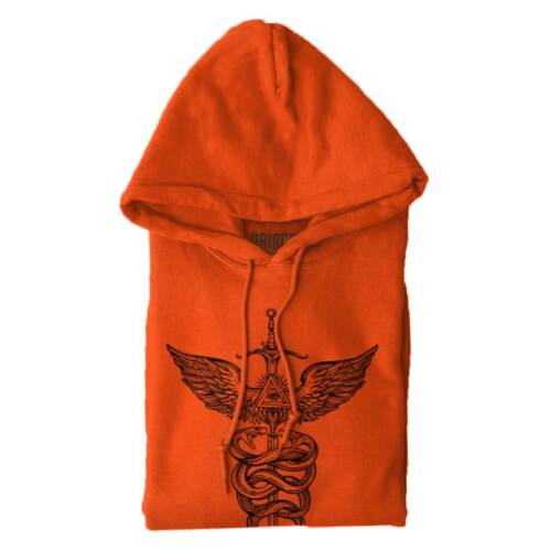 Caduceus Doctor Healthcare Medical Symbol Sword Wings Gift Hooded Sweatshirt