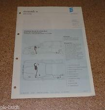 Einbauanleitung Eberspächer Standheizung B 5 W SC für Seat Ibiza Stand 04/2001