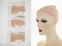 Set Of 3 Stocking Wig Cap Liners A Cool Comfortable Perfect For Keeping Wig On