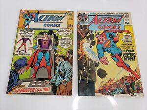 Vintage-DC-Comics-Action-Comics-Lot-384-amp-398-USA