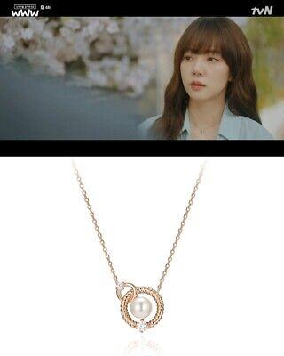 estina J Basic necklacejjjbni 9AS807SR420 Korean Drama www Lim Soo Jung neckl J