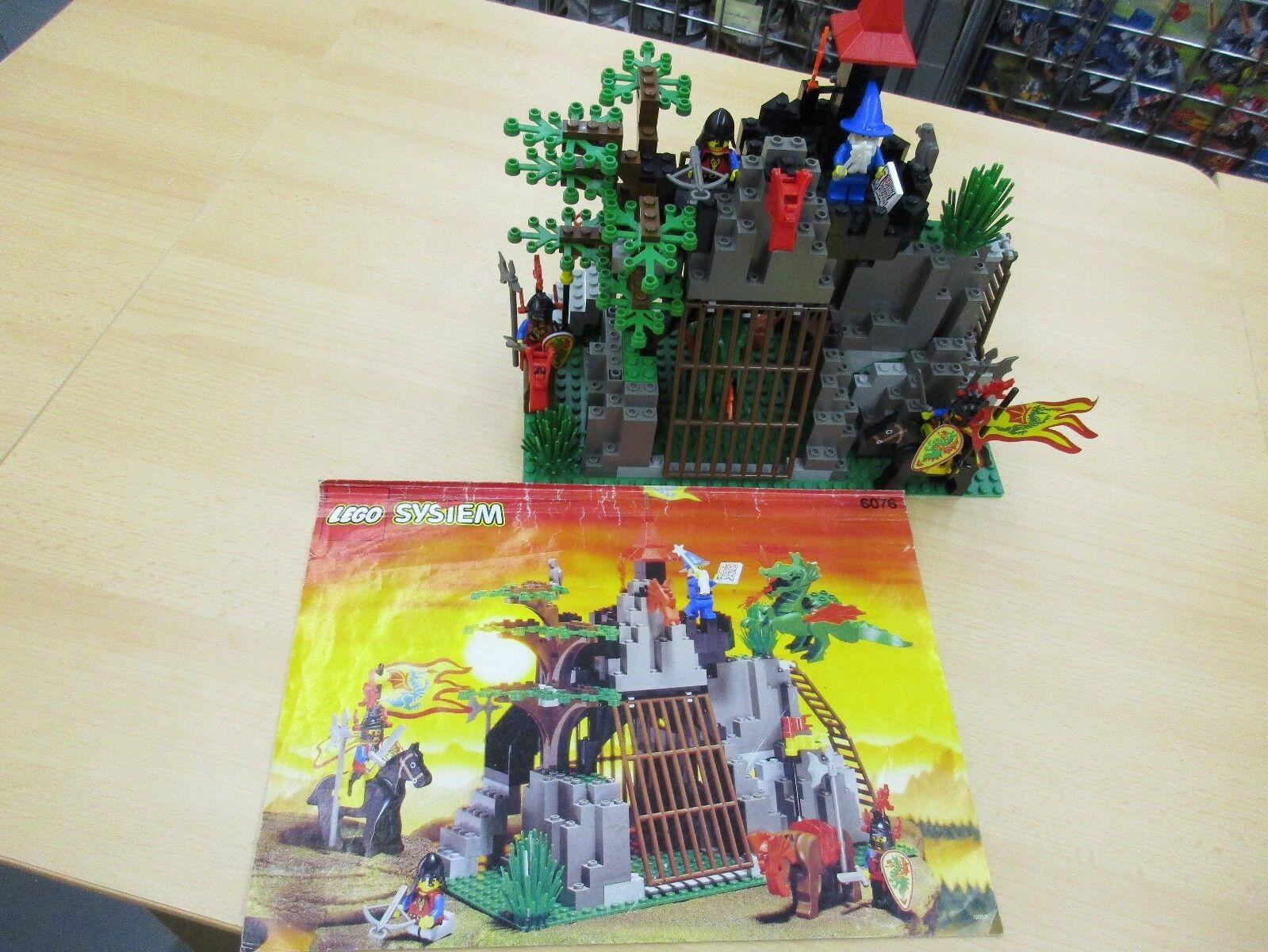 Lego System 6076 Drachenhöhle von 1993
