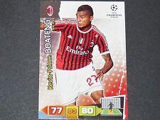 BOATENG ROSSONERI MILAN AC UEFA PANINI CARD FOOTBALL CHAMPIONS LEAGUE 2011 2012