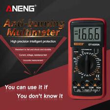 Digital Voltmeter Ammeter Ohmmeter Multimeter Volt Ac Dc Tester Meter Us