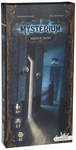 Mysterium Hidden Signs Expansion Board Game Asmodee Games ASM MYST02 Family