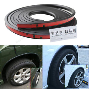 118-039-039-Car-Fender-Flares-Extension-Black-Wheel-Eyebrow-Protector-Lip-For-Ford-23