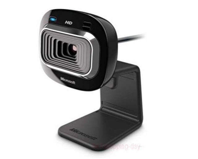 New Genuine 100/% Microsoft LifeCam HD-3000 HD Webcam 720P USB Webcam