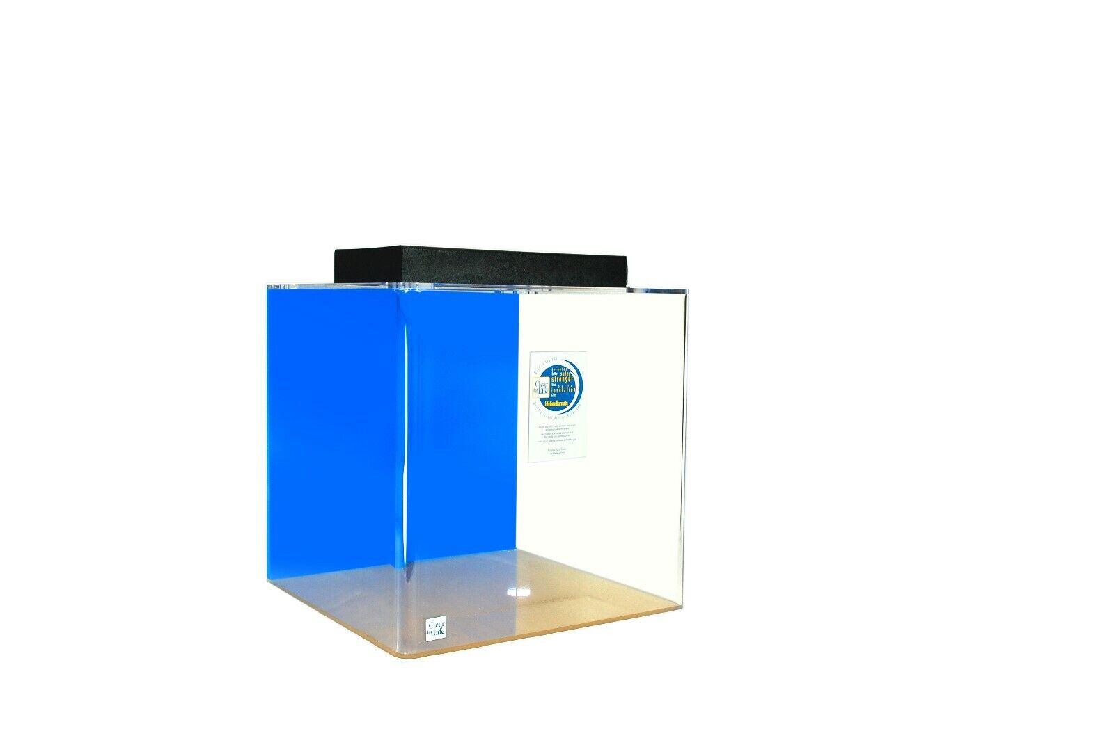 Aquarium  Acrylic  Cube  25 Gal Cube Tank 18 X 18 X 18 TALL