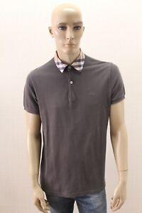 Polo-BURBERRY-LONDON-Uomo-Maglietta-T-shirt-Maglia-Man-Taglia-Size-L