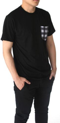Gravity Threads Men/'s Crew Neck Pocket T-Shirt Made in USA