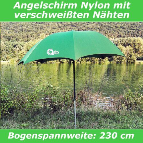 Q-Tac Angelschirm Nylon Angel Schirm Anglerschirm mit verschweißten Nähten