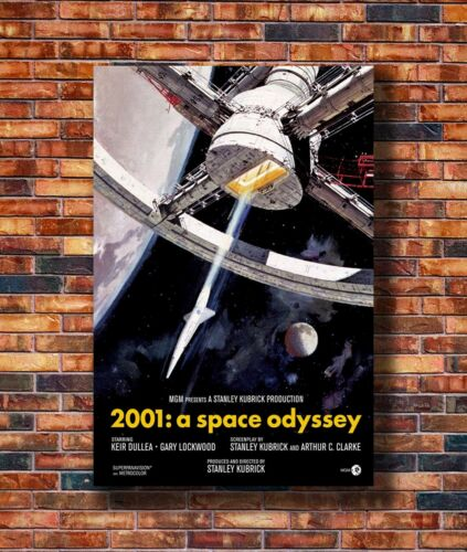 Details about  /Costom Poster A Space Odyssey Movie 12x18 27x40 Art Silk