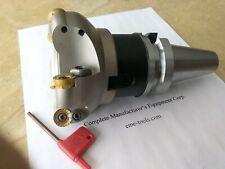 4 Face Mill R200 W 5 Sandvik Rckt1606 Round Inserts W Bt40 506 Rckt16 4