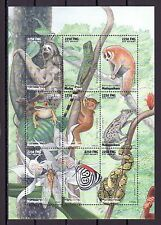 / Malagasy Rep., Scott cat. 1411. African Fauna sheet with Butterfly.