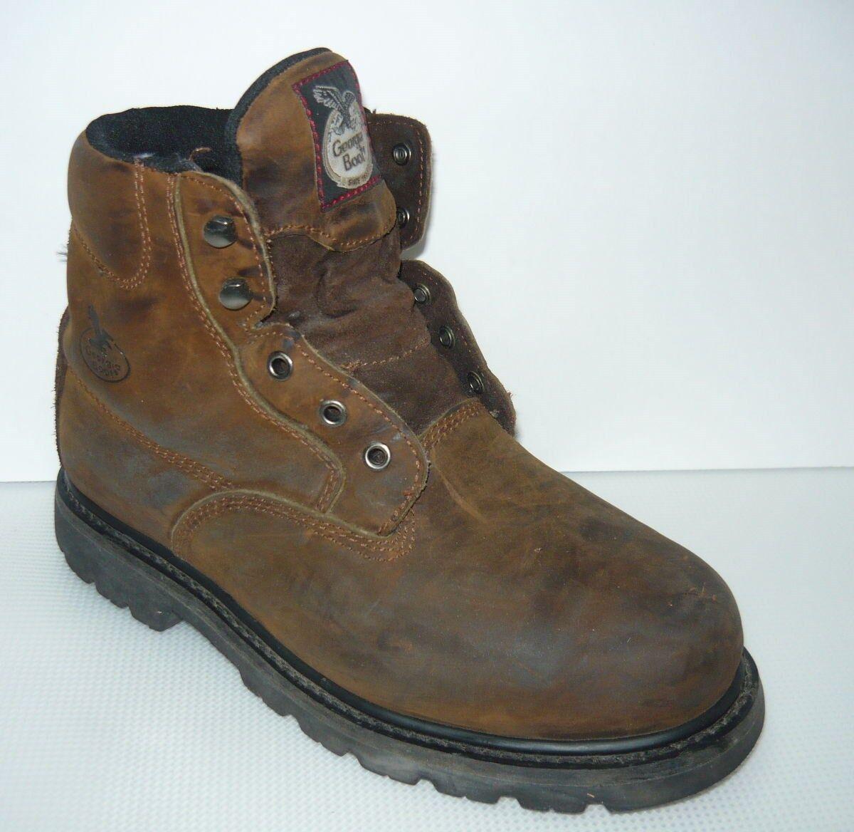 Georgia Boot Steel toe Comfort Core G6333 Work Boots Sz 10M