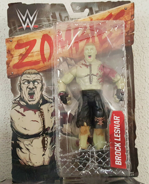 WWE Brock Lesnar Zombies Action Figure