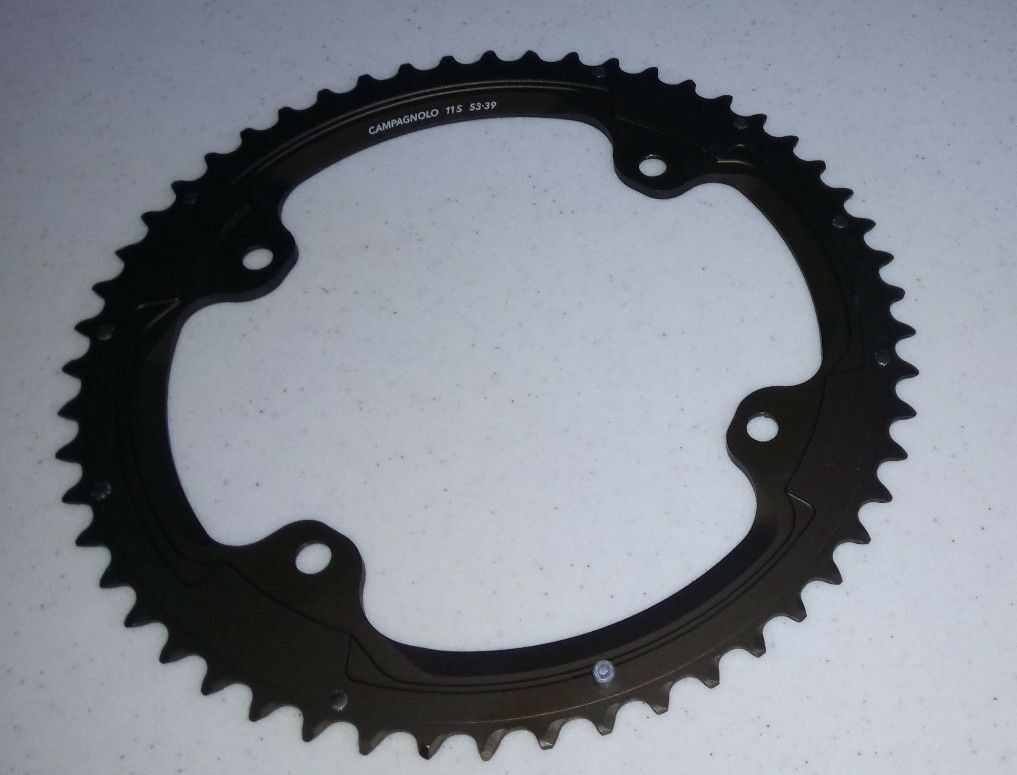 CAMPAGNOLO Super Record 11 speed chainring 53T or 39T 4 arm hole 145  112 BCD