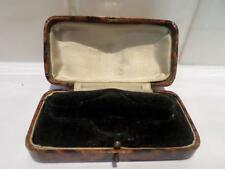 VINTAGE JEWELLERY BOX. ANTIQUE JEWELRY CASE. OLD JEWELLERS WRISTWATCH WATCH BOX