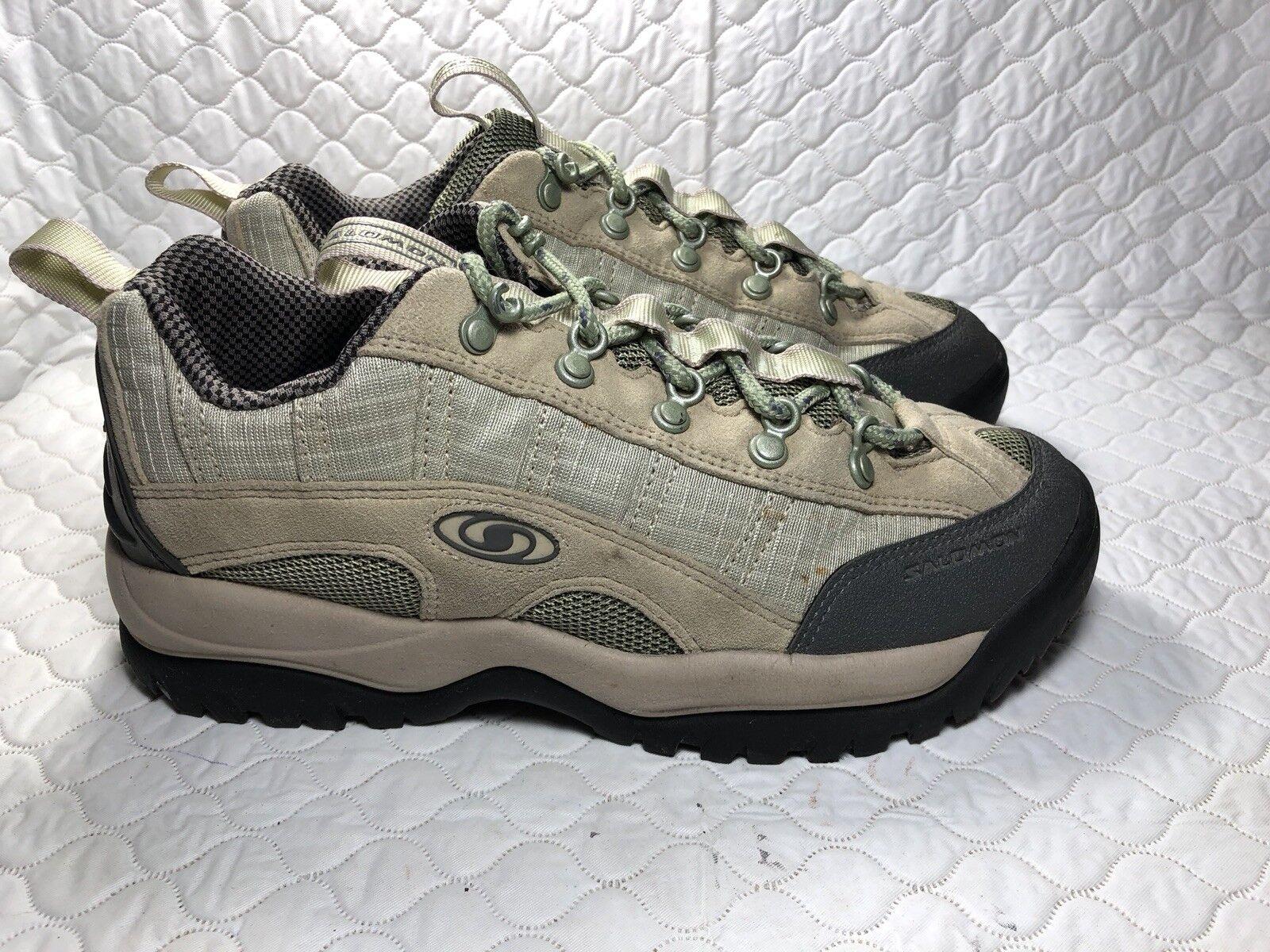 Salomon Women's Hiking Trail shoes Conta Grip Size-8