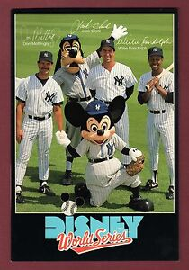New York Yankees Don Mattingly Mickey Mouse 1988 Walt