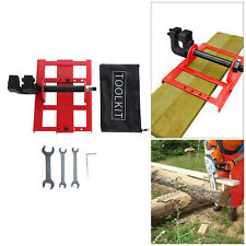 Vertical Chainsaw Mill Steel Lumber Cutting Guide Rail Saw For Carpenters
