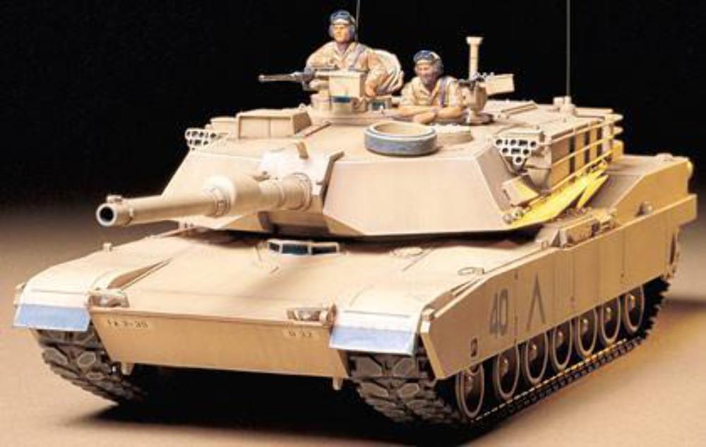 Tamiya U.S. M1A1 Abrams 120mm Gun Main Battle Tank