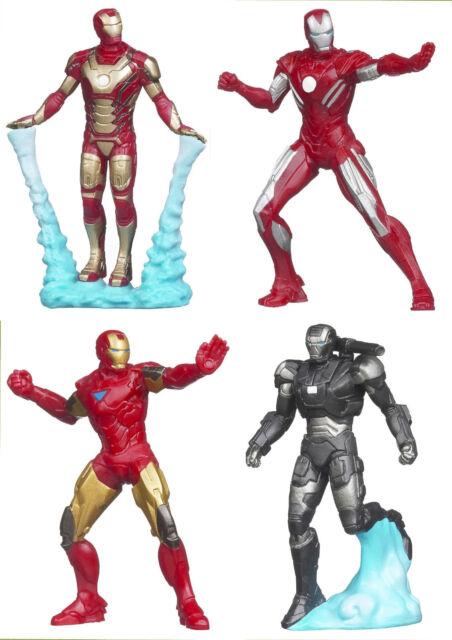 Marvel Universe Iron Man 2.5 Action FigureS Movie Series 4 PCS War Machine 2012