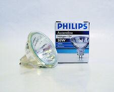10 x Nuevo Philips ACCENTLINE 50w MR16 12V 36 Grados Halógeno Dicroico Bombilla Lámpara