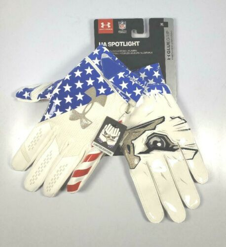 UNDER ARMOUR UA SPOTLIGHT FOOTBALL gloves EAGLE GLUEGRIP Limited Edition XL