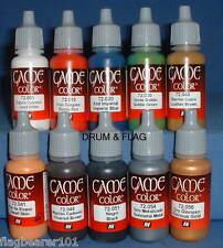 Vallejo Juego Color Paint-Infantería Británica 24th pie Zulu Wars - 10 Botella Set