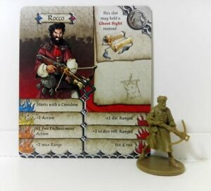 ROCCO-William-Tell-Zombicide-Black-Plague-Green-Horde-Heroquest-D-amp-D
