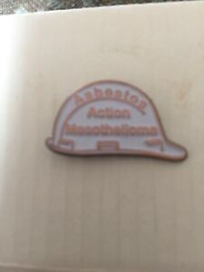 Asbestos Cancer Charity Badge Mesothelioma £1Million Appeal Fund Please Support