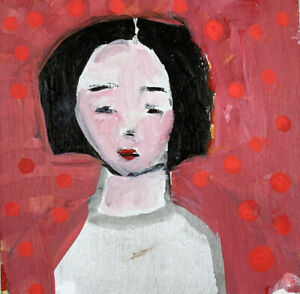 Original-Outsider-Art-Portrait-Painting-Being-Mindful-Katie-Jeanne-Wood