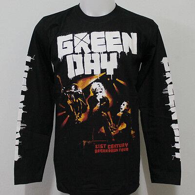 Green Day 21st Century Breakdown  Long Sleeve T Shirt Size S M L XL 2XL 3XL