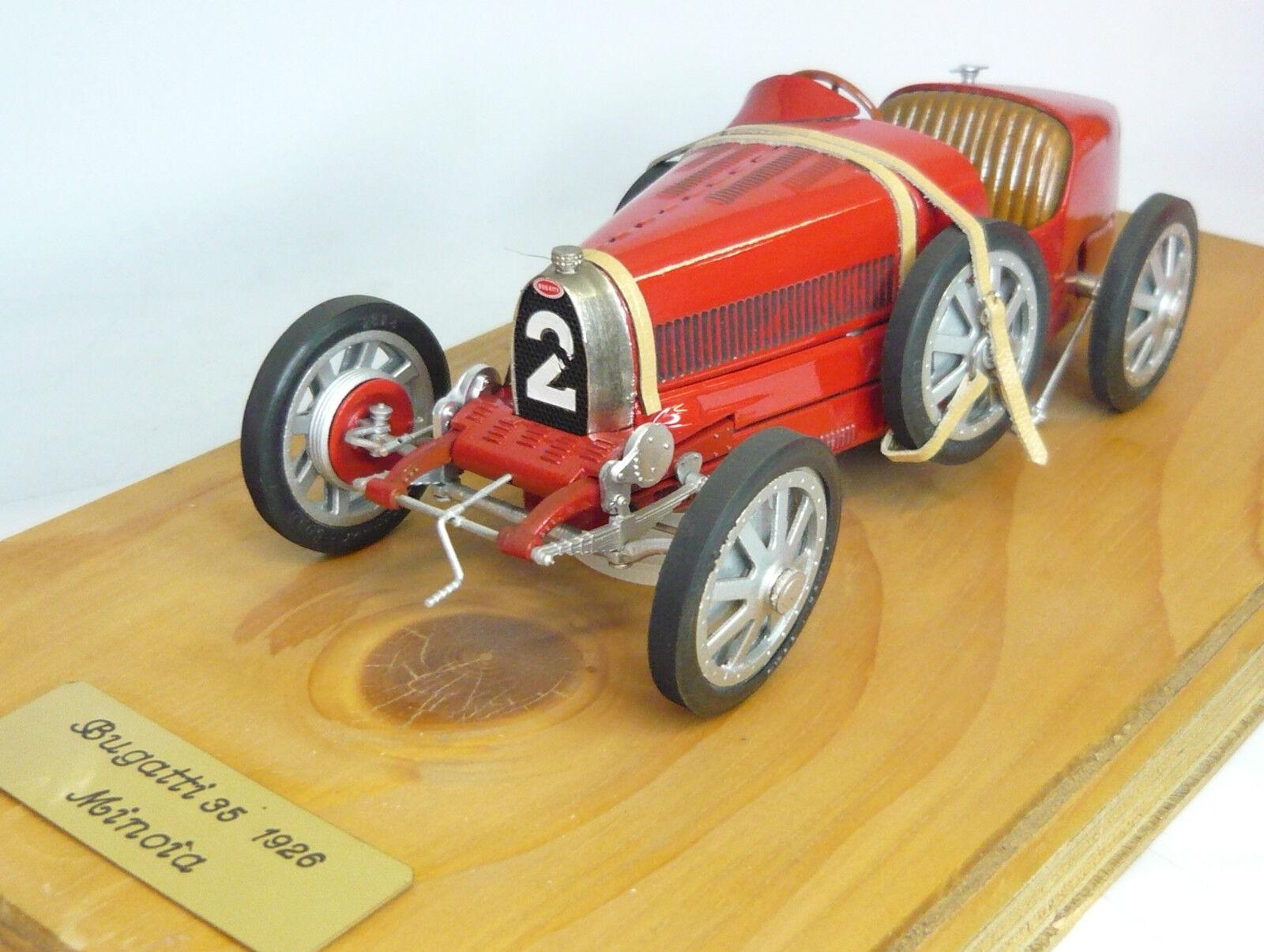 mejor calidad mejor precio Revival Bugatti 35 minoia  2 1926 1 1 1 20 listo modelo nuevo & en embalaje original  Sin impuestos