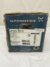 Grundfos Ups15 58frc 3 Spd Circulator Pump